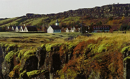 Thingvellir in the Summer